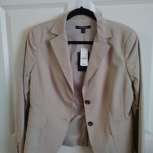 NWT Brooks Brothers Khaki Blazer size 10